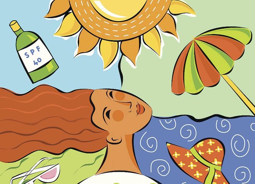 别老避着阳光,晒太阳可预防维生素D缺乏
