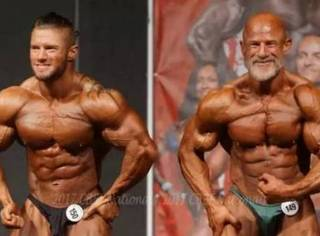 说肌肉男老了就不行?!那你一定没有被这样的爸爸