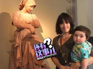 外国妈妈在博物馆里哺乳儿子,结果工作人员...