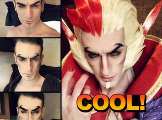 意大利高颜值小伙又把cosplay玩出了新境界