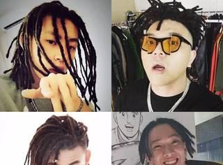 《中国有嘻哈》的选手们不仅带火了freestyle,还带火了脏辫!