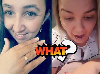 月入6位数小伙求婚送1300的戒指,网友们又开始了炸裂讨论