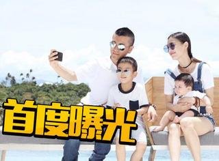 黄圣依晒全家福贺结婚10周年,小儿子首度曝光