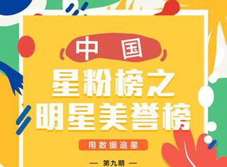 明星美誉榜第九期揭晓:郑爽进前三,拍戏写书两不误