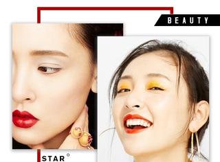 吴倩首次尝试霸气性感妆,鲜艳的色彩搭配show出个性!