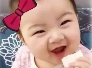 贺军翔晒女儿,眉毛太美的绝对丑不了