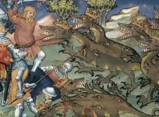 中世纪的龙和你想的可能不太一样