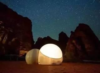 床上看星空,比主题酒店还刺激!