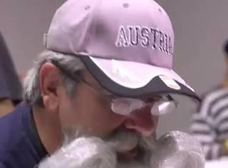 世界胡须锦标赛?爱美的男士连这个都要比赛,几千个胡须造型亮瞎眼