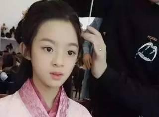 10岁的她出道1年就成赵丽颖接班人,目测长大后比热巴还美!