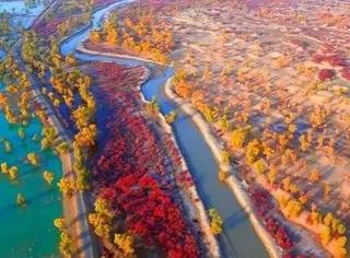 上帝的视角看秋天的地球,美哭!