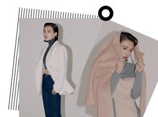 马思纯时尚大片越拍越顺,超质感高级灰信手拈来摩登范儿!