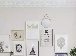 你家空旷的墙,缺少这样的照片墙!