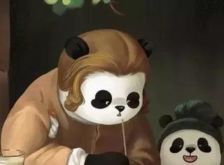 熊猫乱入20幅世界名画,萌炸了整个地球