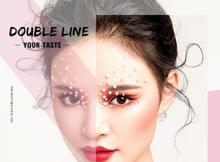 这款double line厉害了, 画好了连假睫毛都能省!