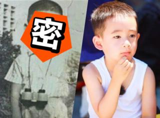 看了陈小春和应采儿的童年照,这一家子完全是在互相撞脸!
