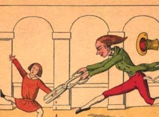 这么恐怖的漫画,竟然是本德国儿童读物!