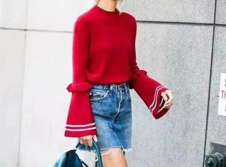 倪妮的这件Loewe 针织衫更适合我妈,优衣库应该在偷笑吧…