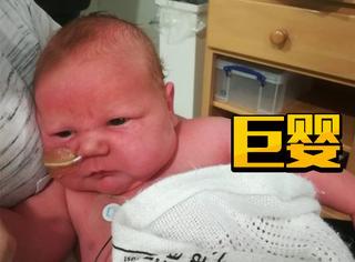 英国妈妈产下巨婴,光生产就花了6个小时