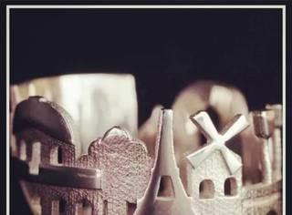 她把城市做成戒指,数一圈手指头就是一次环球之旅!