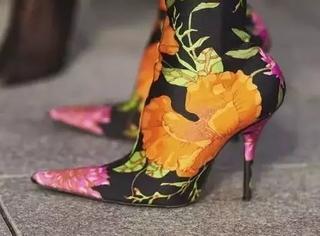 17年秋冬流行鞋履太奇葩!来看看你能接受几双