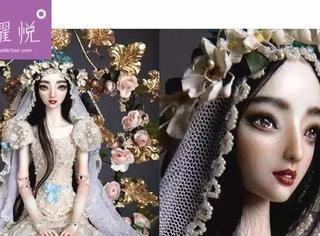 除了李晨送给范冰冰那个售价30万美金的瓷娃娃外,同样来自俄罗斯的人偶大师还有他!