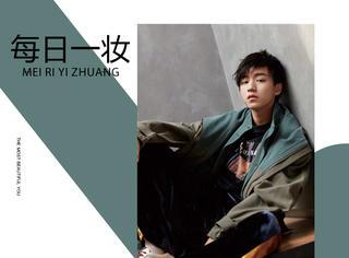 慵懒发型的王俊凯,过了18岁生日越来越成熟帅气了!