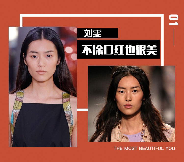纽约时装周后,刘雯在米兰时装周也不涂口红!