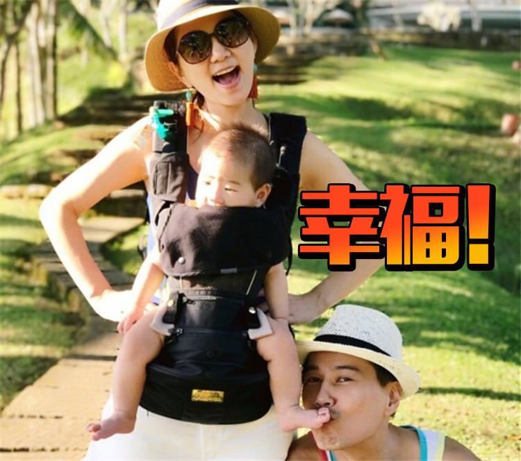 ELLA晒家庭旅行照,这一家人真是太幸福了吧!
