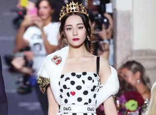 6个品牌代言人亮相时装周,都不敌热巴走秀美?
