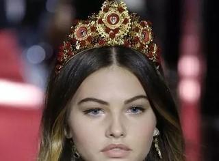 """法国16岁超模曾经被誉为""""全世界最漂亮的女孩""""!"""