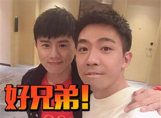 俞灏明晒与张杰合影,两个人的友谊已经十年了!