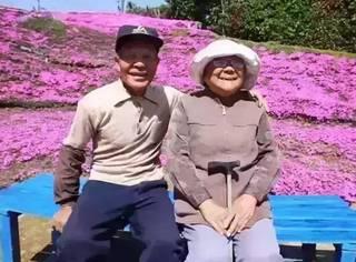 结婚60年,他用两年种出一片花海只为失明的她···