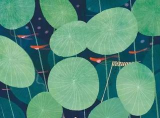 《诗经》里的植物长啥样?53幅手绘画搭配诗句,美翻了!