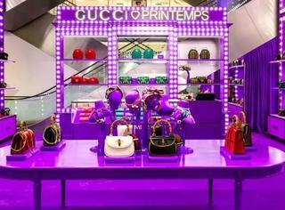 Gucci向春天百货这场文艺的表白背后,竟还藏着好多好玩的惊喜…