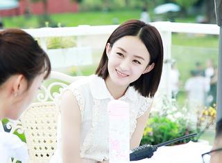 《你和我的倾城时光》在苏州热拍中,赵丽颖的最新路透照来啦!