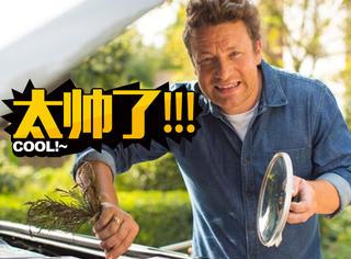 他把一辆车改装成了移动厨房,厉害了!