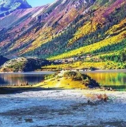 林芝的秋天就是天堂的模样