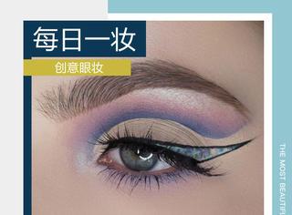 看看人家妹子16岁的眼妆,简直就是艺术品啊