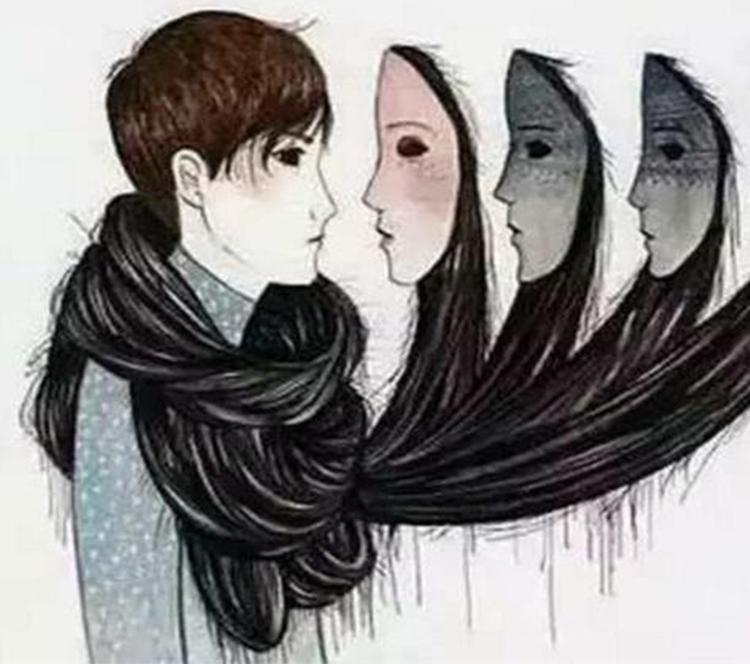 这些插画告诉你人没有永远的好人,也没有永远的坏人