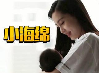 网友偶遇baby和小海绵,做了母亲的baby真的越来越柔软了呀