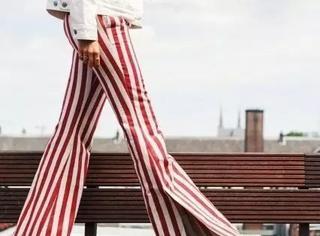 这裤子套秋裤也好看,刘雯贝嫂都这么穿