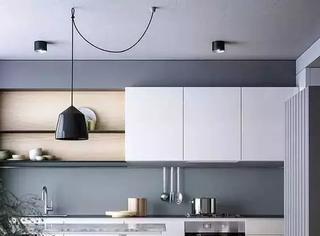 不要吊柜的厨房,居然还可以这么美!