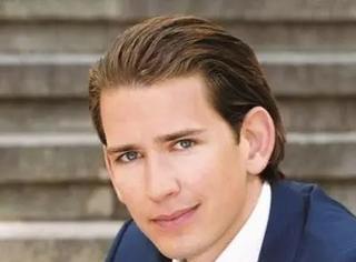 奥地利31岁最年轻最帅总理横空出世,加上马克龙特鲁多可以组天团出道了
