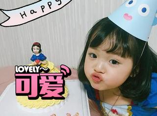 肉嘟嘟的脸蛋加逗比的表情包,她是最近韩国超火的萌娃!