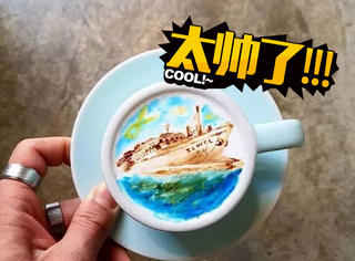 一杯咖啡也能变成如此艺术品,这家店在韩国真的火爆了!