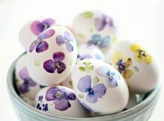 创意 煮鸡蛋都能煮出艺术