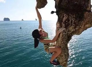 6岁爱上极限运动,14岁创造攀岩历史,人类已经无法阻止这个天才萝莉了...