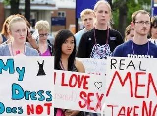 """""""在校园,性骚扰是不存在的""""。"""
