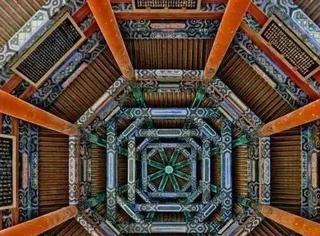 中国古代最美、最神秘天花板,竟能从人间直通宇宙
